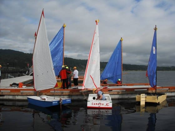 PDRacer 2013 worlds boats at dock before racing - ozracer design wins for the 4th time in 5 years