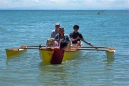 Drop in outrigger plan. Turns any canoe, kayak or narrow dinghy into a stable sailing or diving platform
